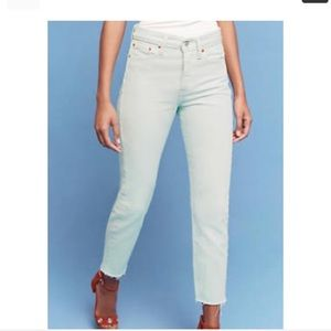 NWT Levi's for Anthropologie Wedgie Fit Jeans!!